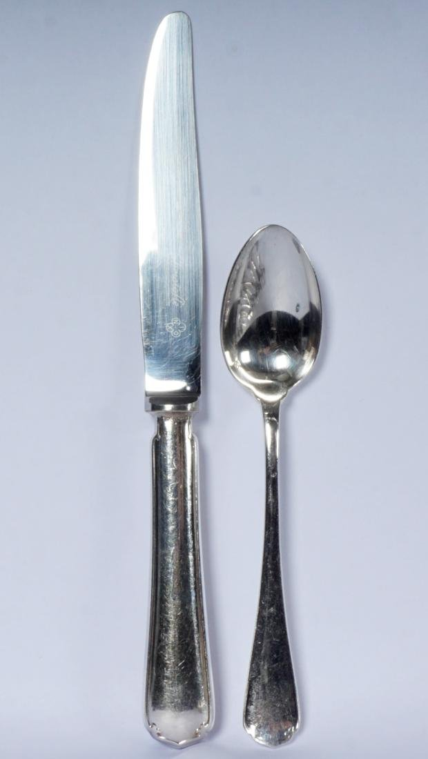 Christofle Silverplate Flatware Service - 10