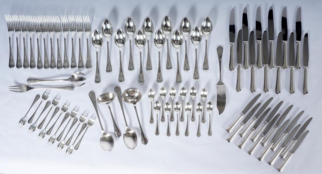 Christofle Silverplate Flatware Service