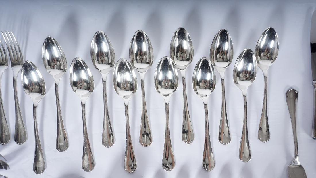 Christofle Silverplate Flatware Service - 5