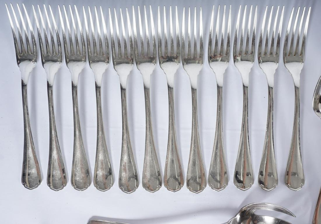 Christofle Silverplate Flatware Service - 6