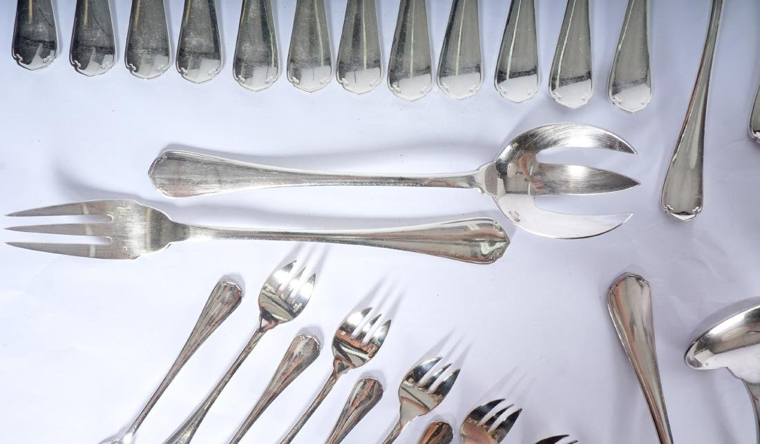 Christofle Silverplate Flatware Service - 8