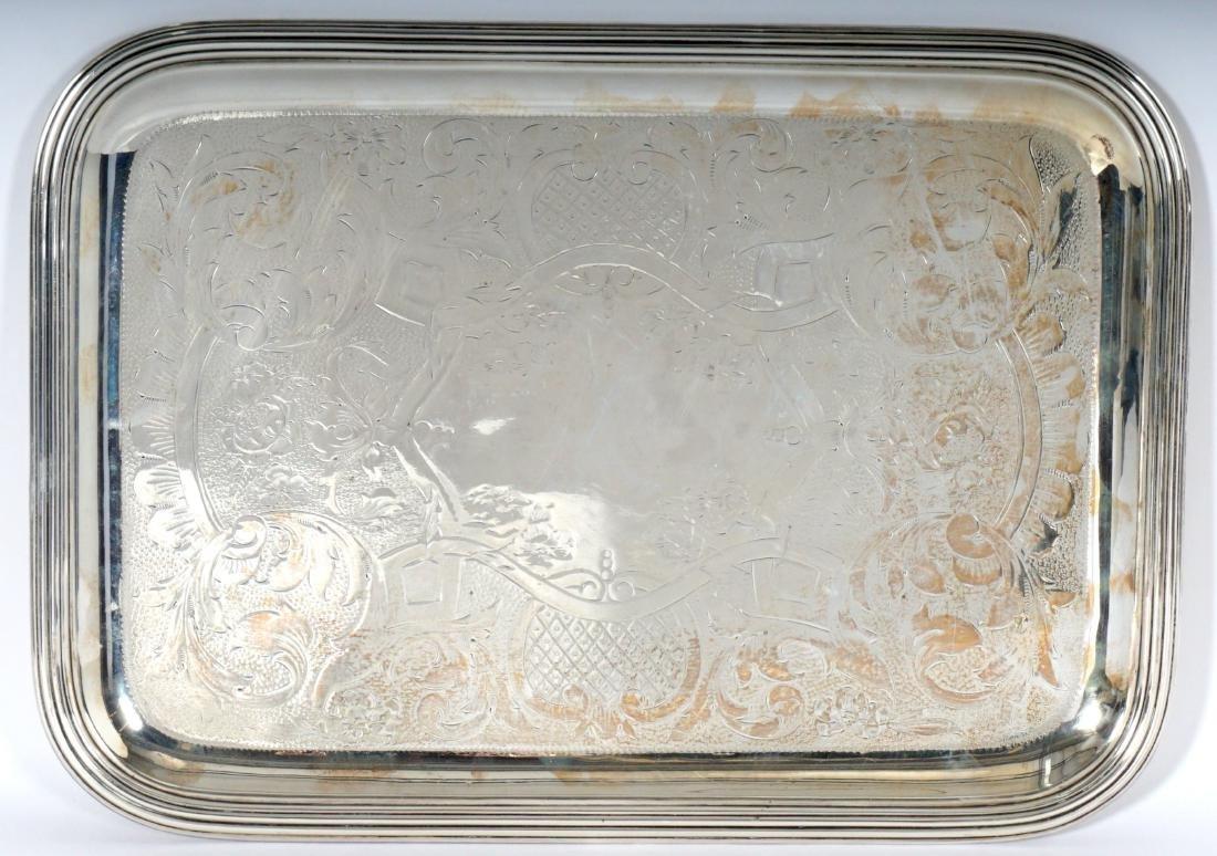 3 Christofle Silverplate Tray - 4
