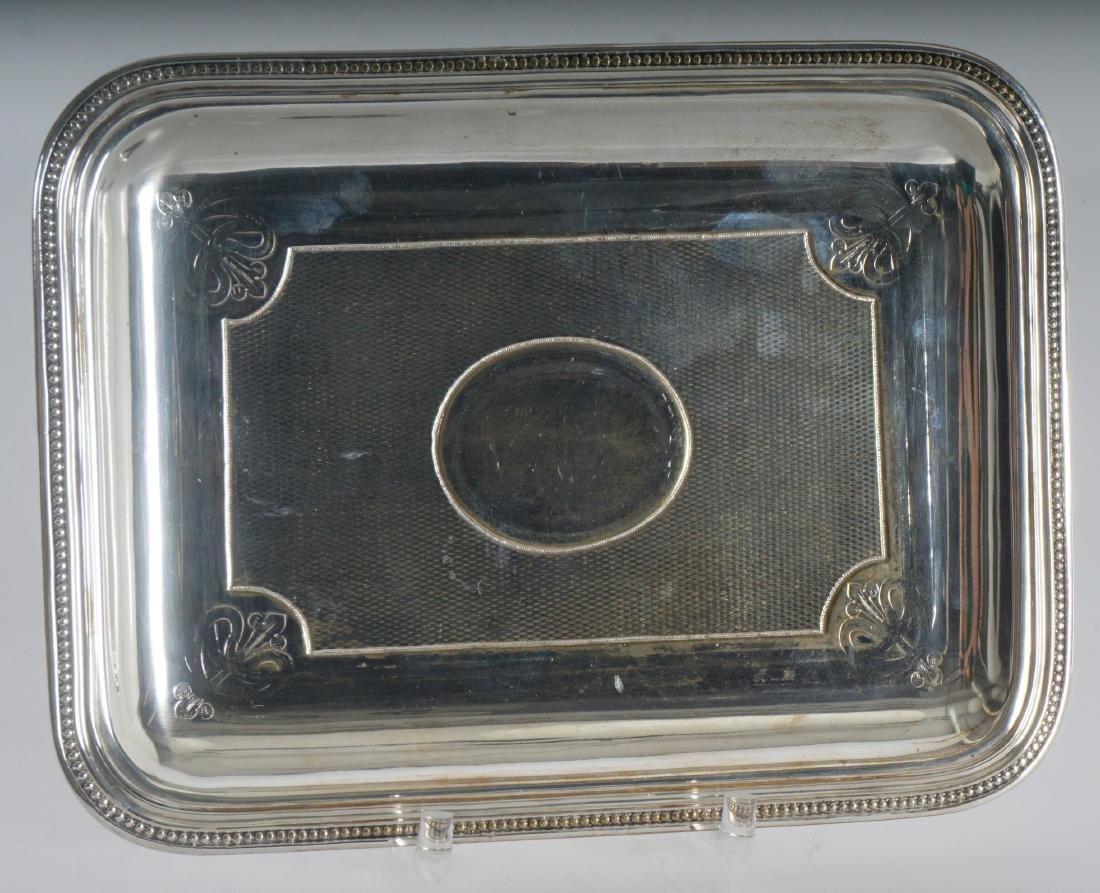 3 Christofle Silverplate Tray - 5