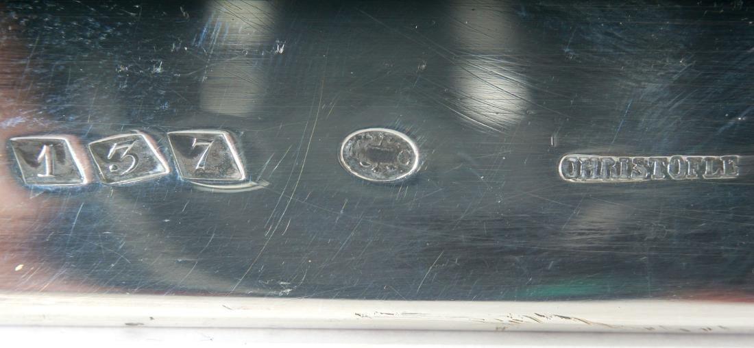 3 Christofle Silverplate Tray - 6