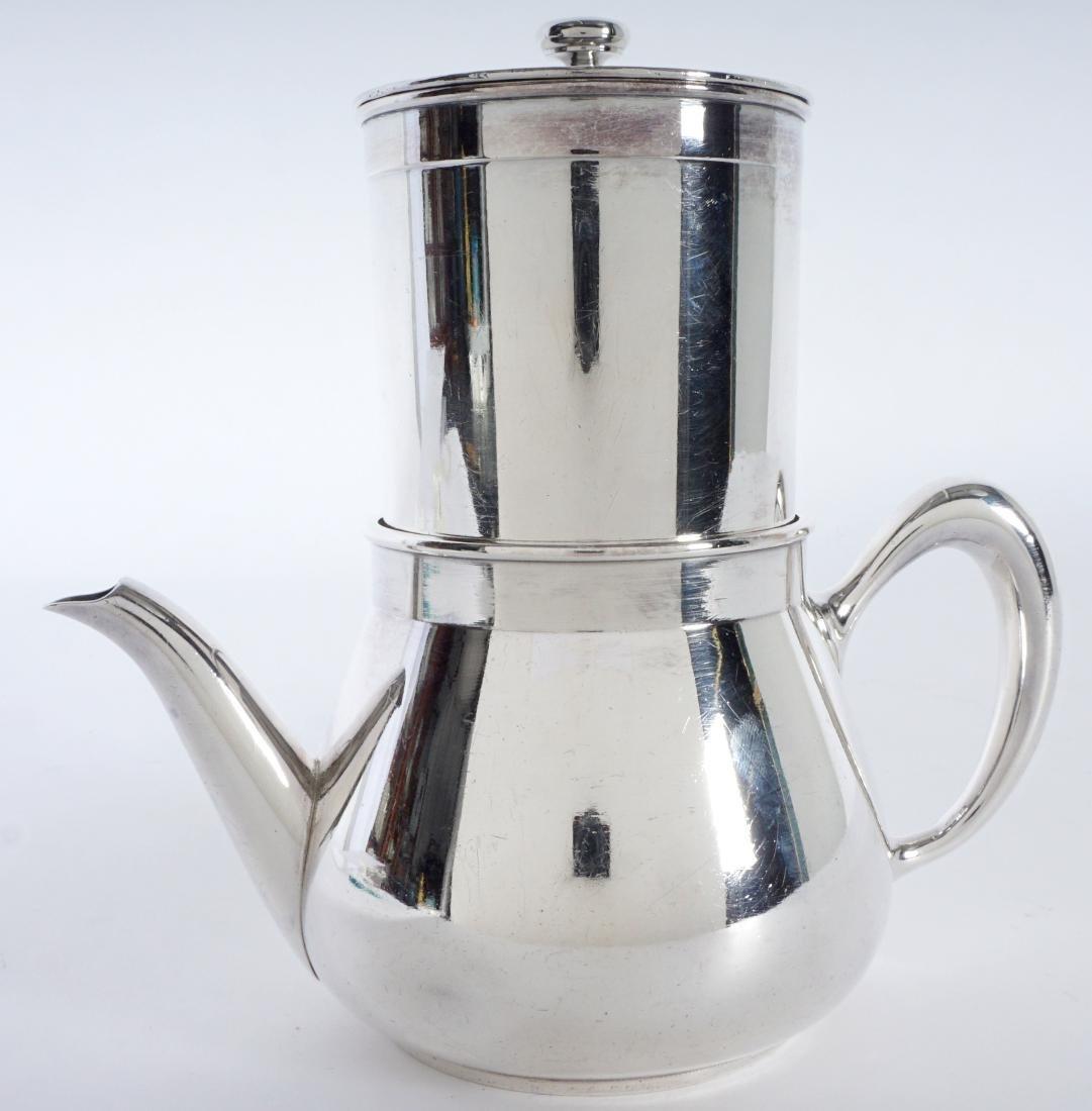 Christofle Silverplate French Press Coffee Pot