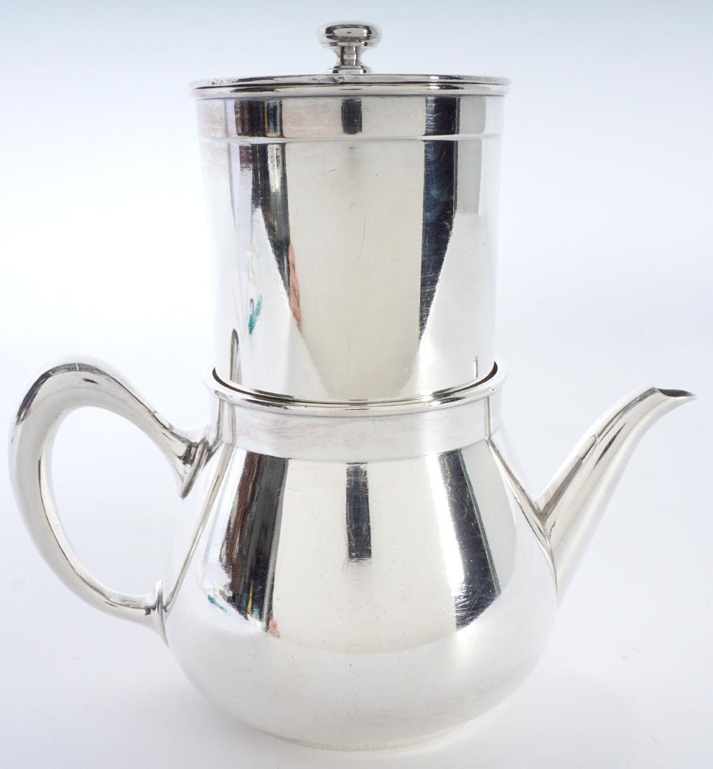 Christofle Silverplate French Press Coffee Pot - 3