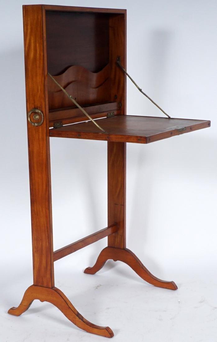 18th Century English Satinwood Fire Screen Desk - 3