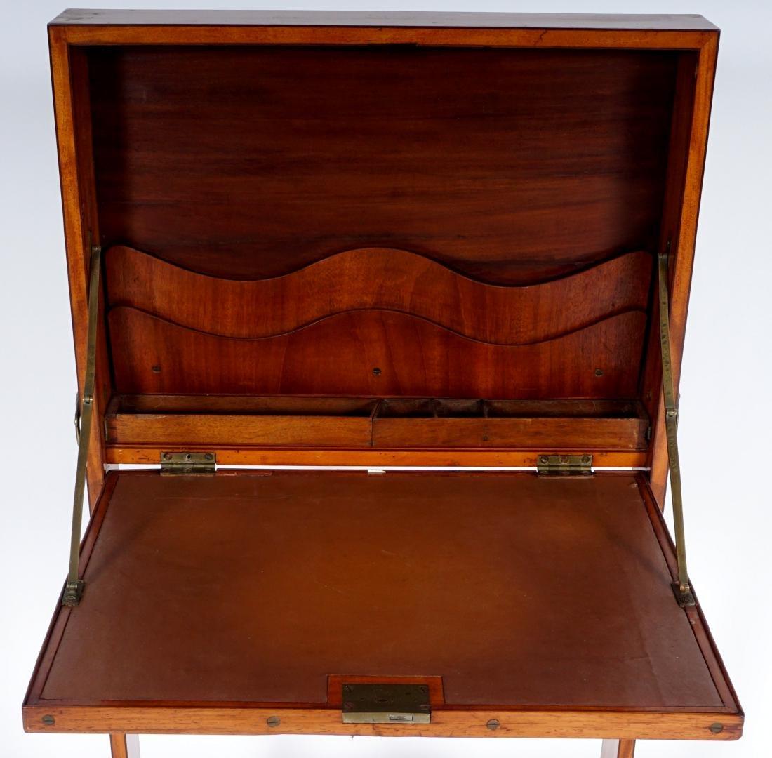 18th Century English Satinwood Fire Screen Desk - 4