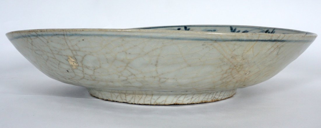 2 Chinese Blue & White Decorated Bowls - 6