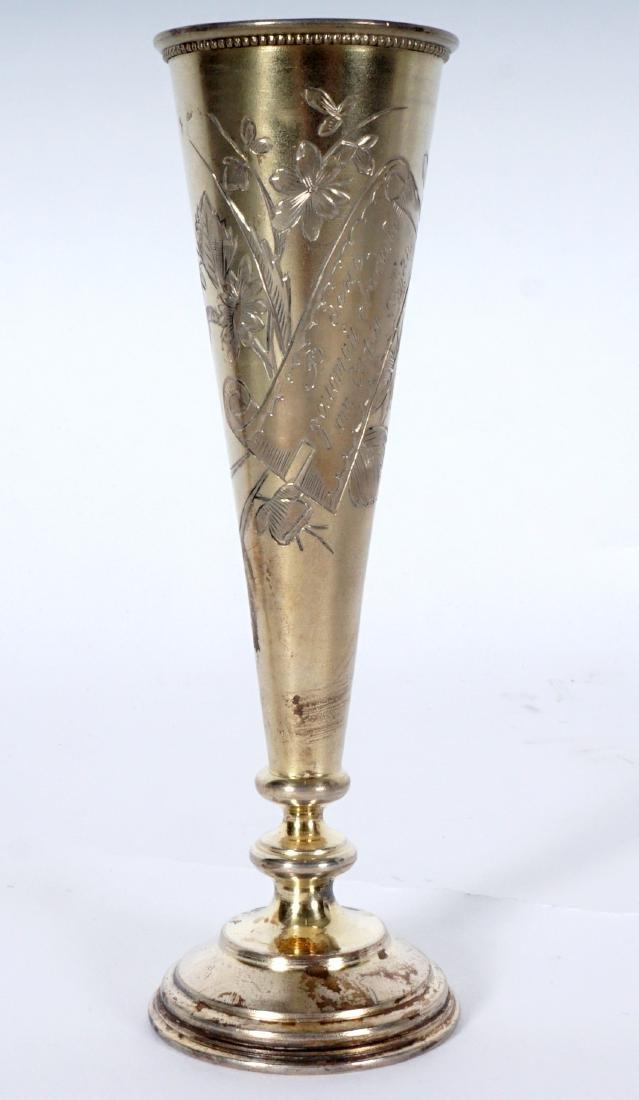 Russian Silver Vodka Flute - 2