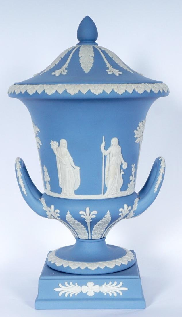 Wedgwood Jasperware Covered Urn