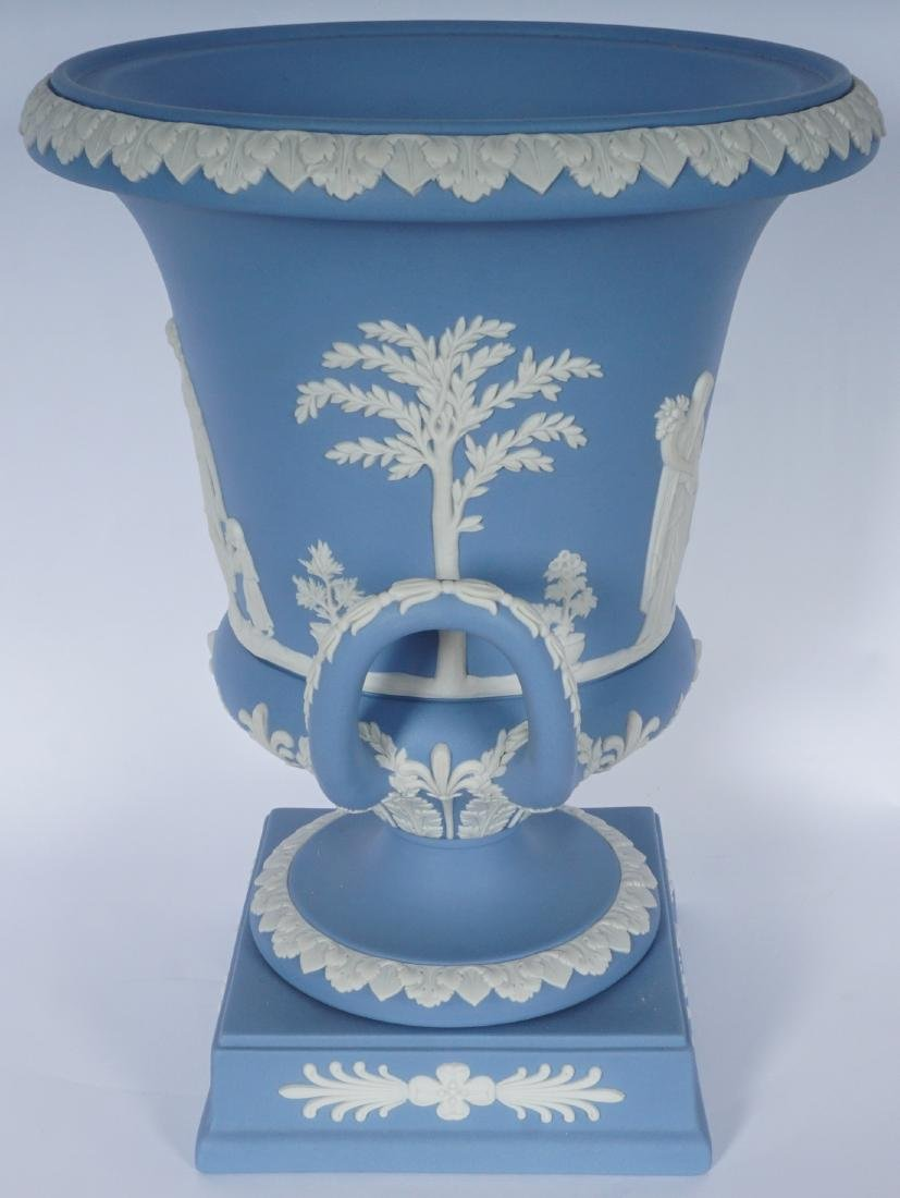 Wedgwood Jasperware Covered Urn - 5