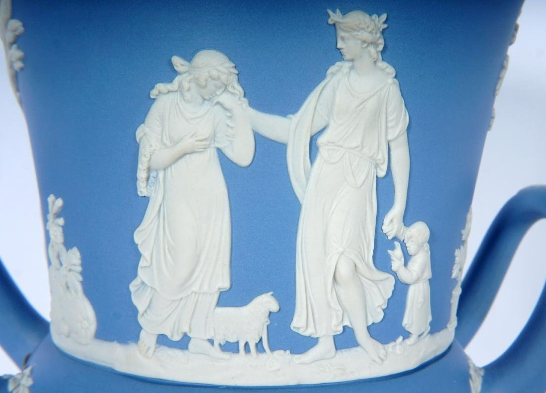 Wedgwood Jasperware Covered Urn - 8