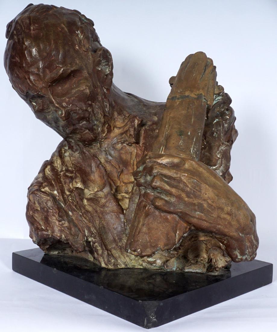 Stanely Bleifeld Bronze Bust Sculpture