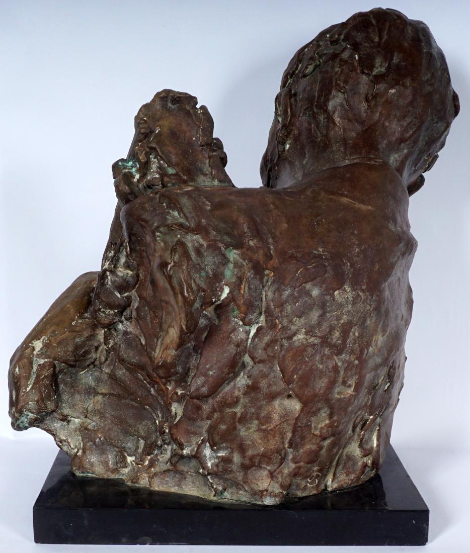 Stanely Bleifeld Bronze Bust Sculpture - 4