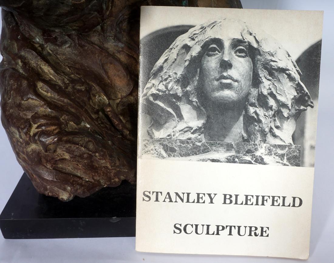 Stanely Bleifeld Bronze Bust Sculpture - 7