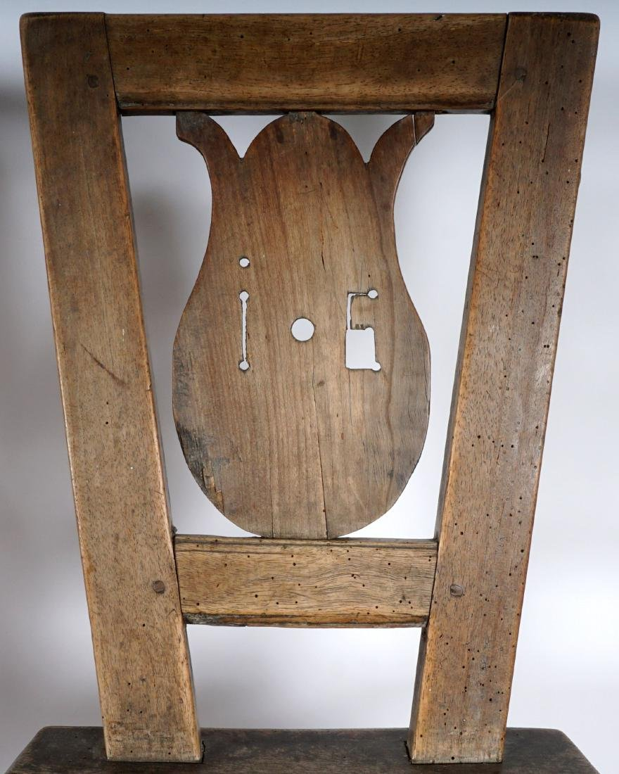 Three 19th Century Carved Hall Chairs - 4