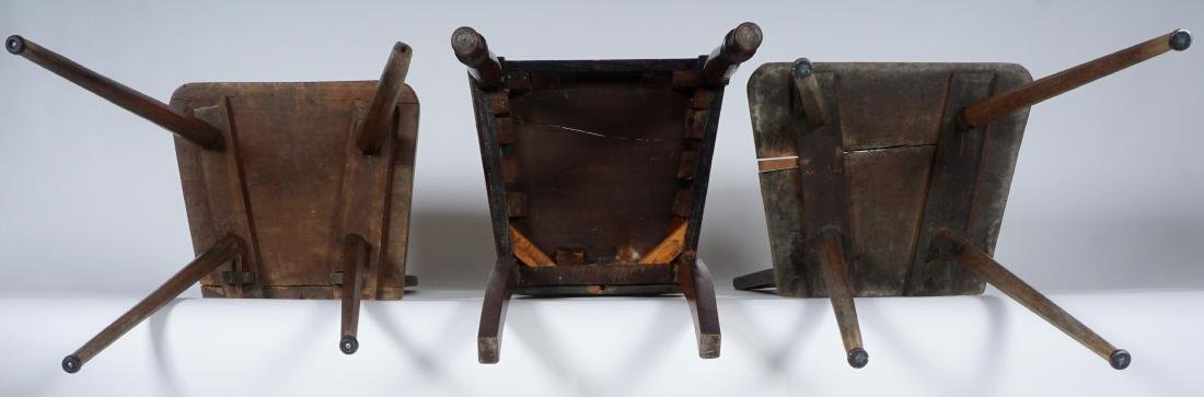 Three 19th Century Carved Hall Chairs - 7
