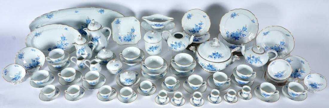 Hutschenreuther Chateau Blue China Service - 2
