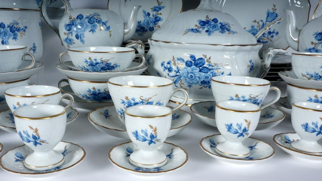 Hutschenreuther Chateau Blue China Service - 4