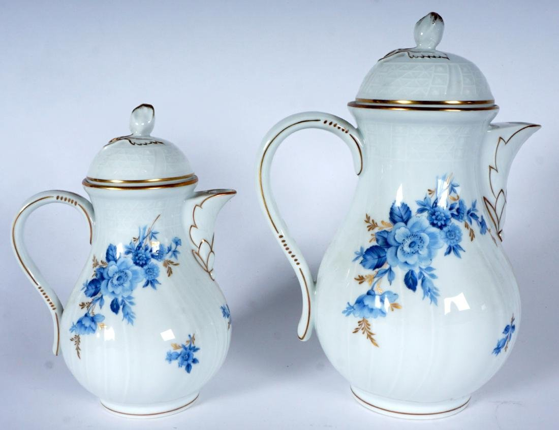 Hutschenreuther Chateau Blue China Service - 6