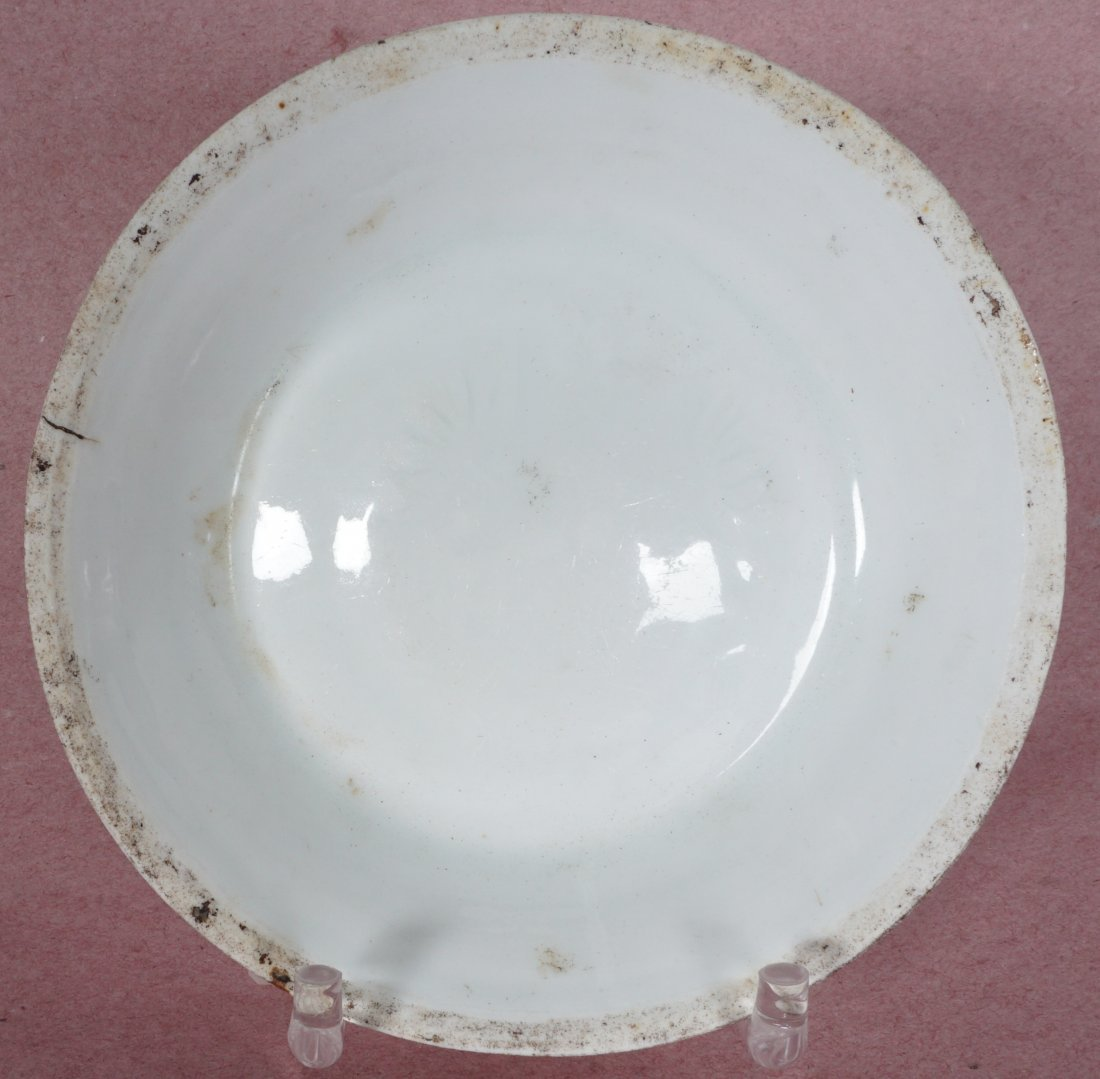 3 Chinese Song Ding Ware White Glaze Dishes - 2