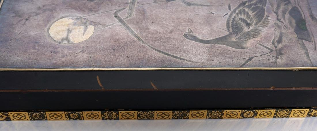 Japanese Meiji Mixed Metal Lacquer Box - 10