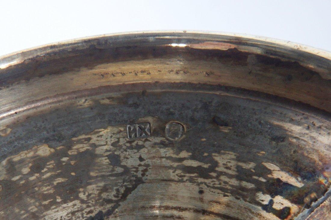 Ivan Khlebnikov Russian Silver Bud Vase - 5