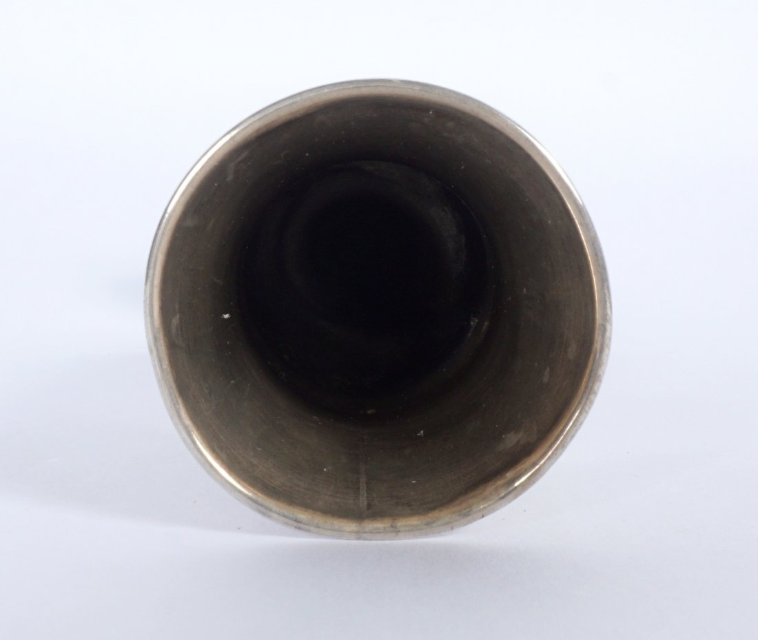 Ivan Khlebnikov Russian Silver Bud Vase - 6