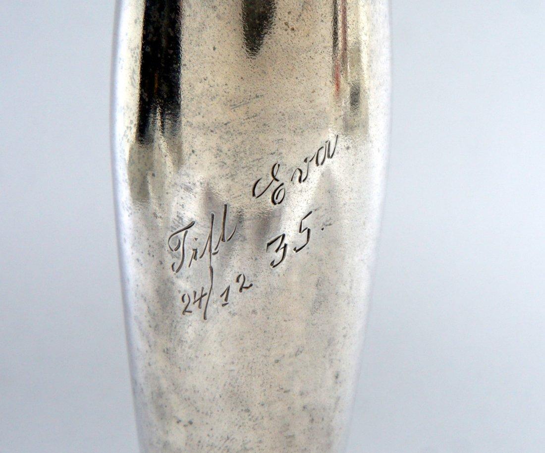 Ivan Khlebnikov Russian Silver Bud Vase - 9