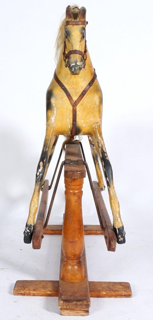 Childs Carved Rocking / Slider Horse - 3