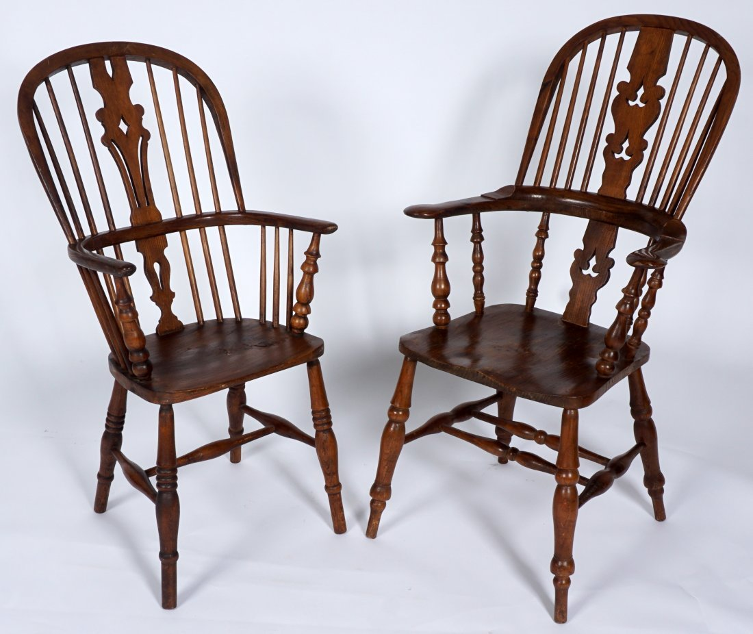 Two English Windsor Chairs