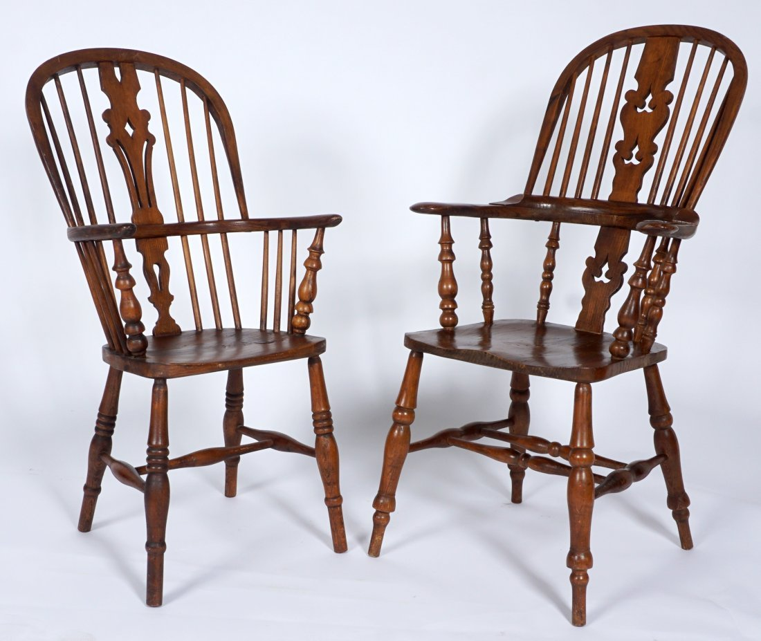 Two English Windsor Chairs - 2