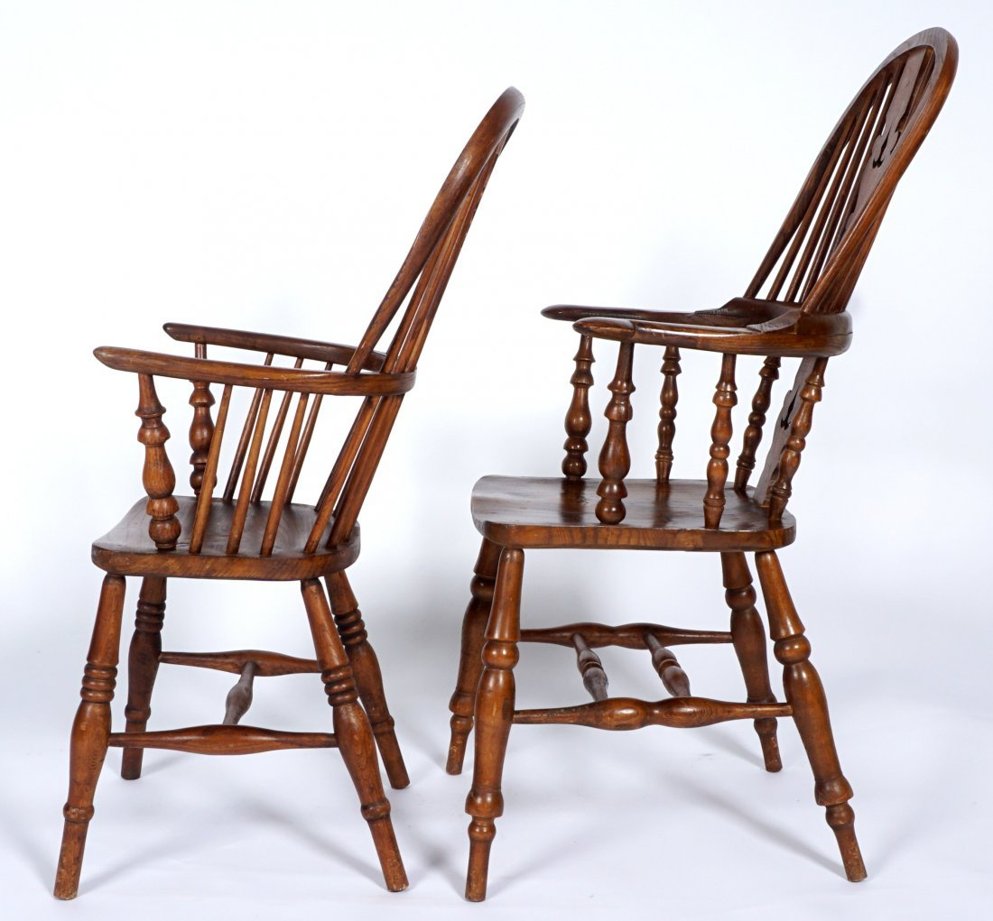 Two English Windsor Chairs - 4