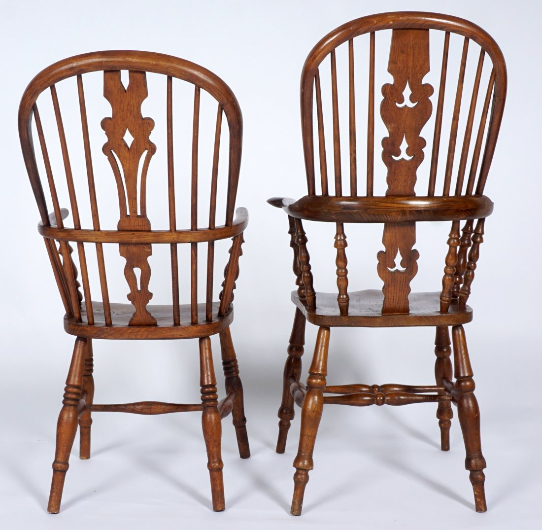 Two English Windsor Chairs - 5