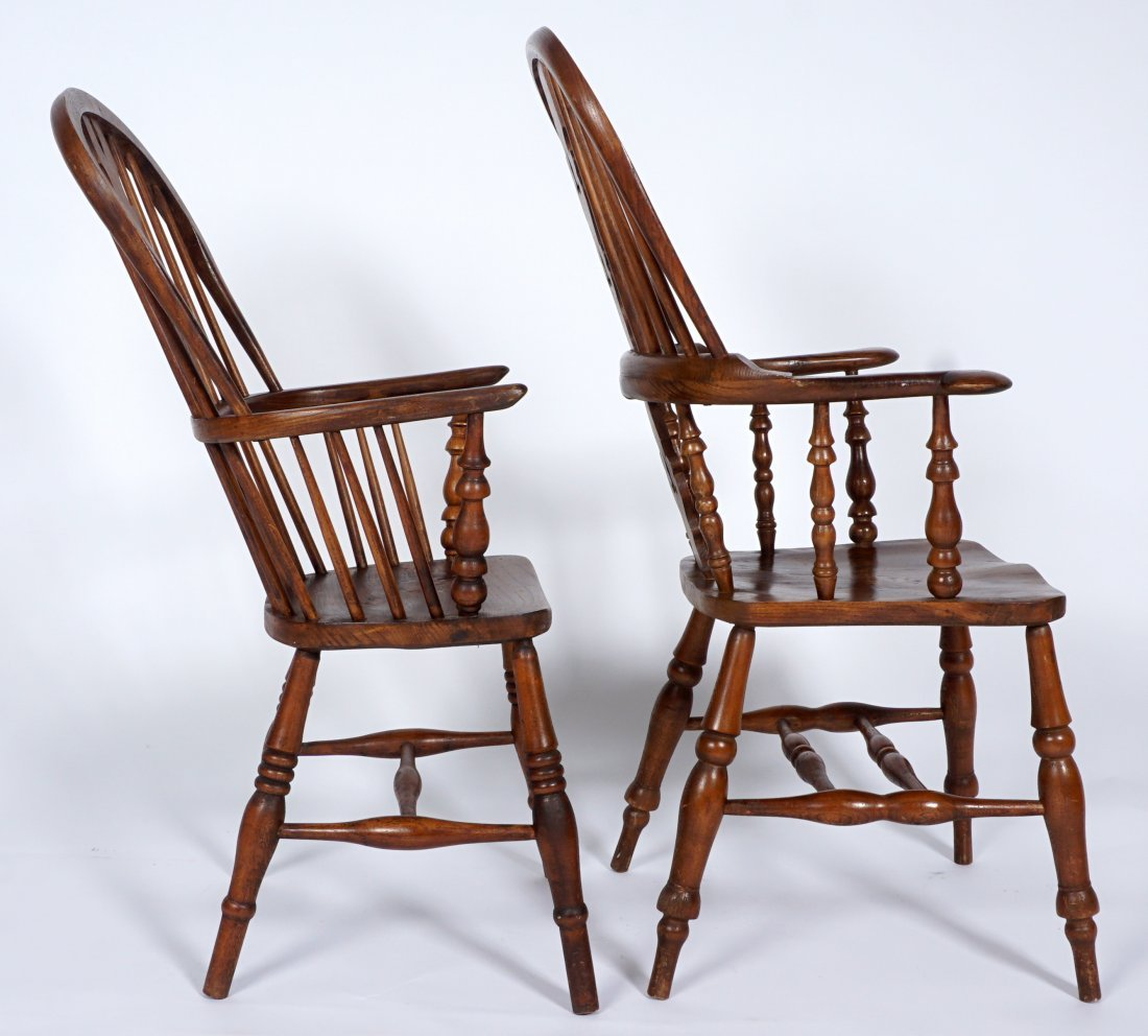 Two English Windsor Chairs - 6