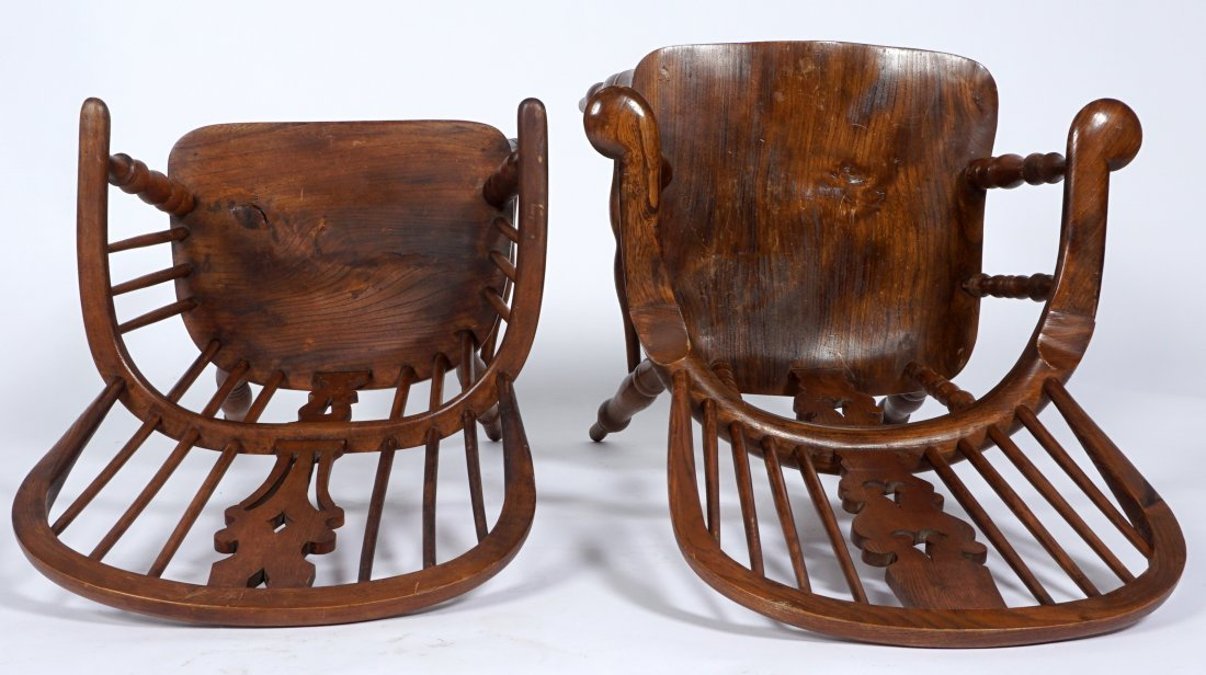 Two English Windsor Chairs - 7