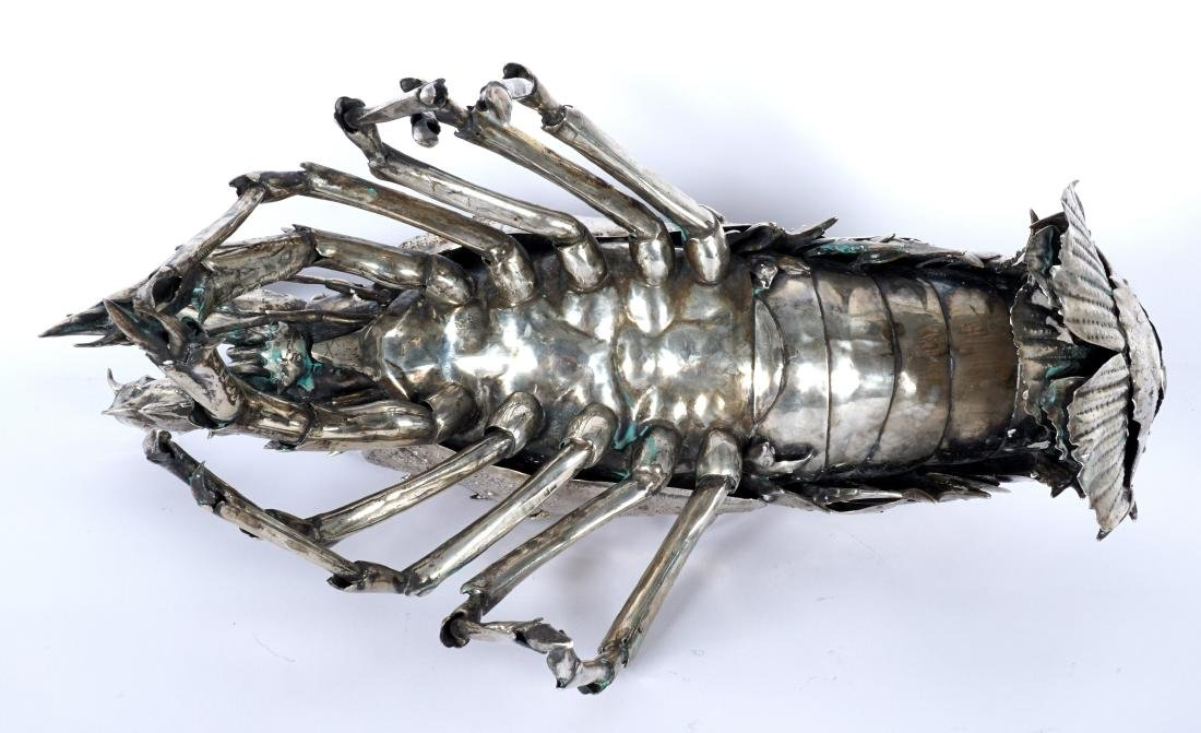 Buccellati Style Silver Lobster by Fratelli Lisi - 5