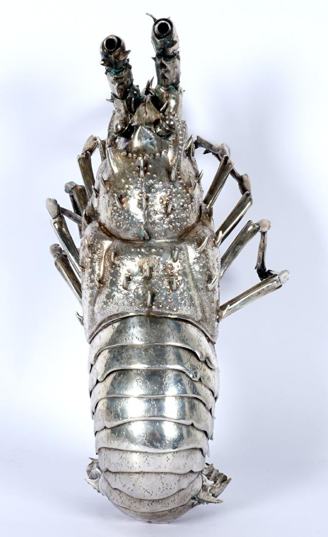 Buccellati Style Silver Lobster by Fratelli Lisi - 6