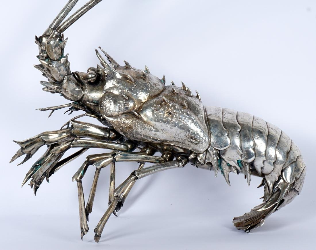 Buccellati Style Silver Lobster by Fratelli Lisi - 8