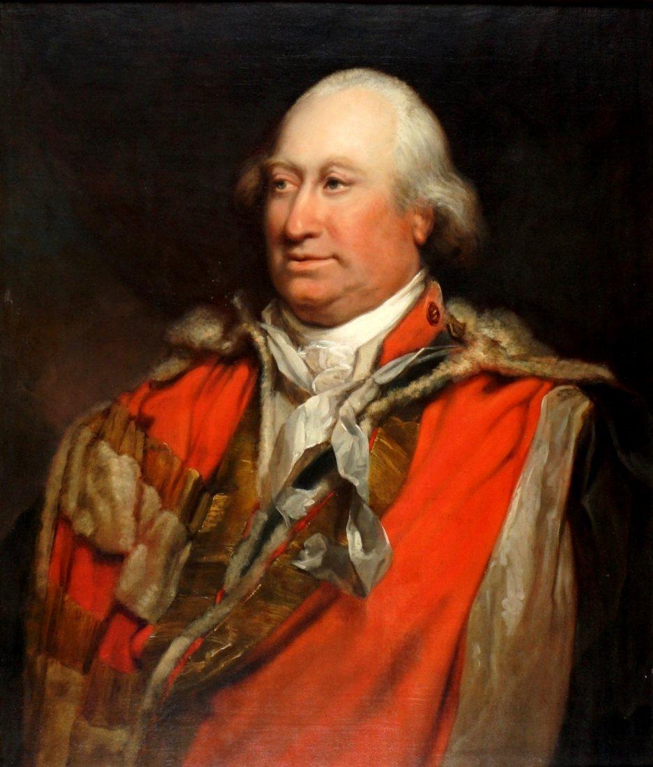 Attrib. William Beechey Portrait of Cornwallis
