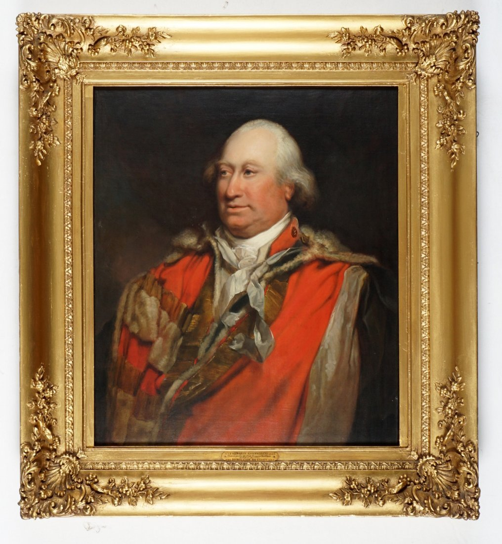 Attrib. William Beechey Portrait of Cornwallis - 2