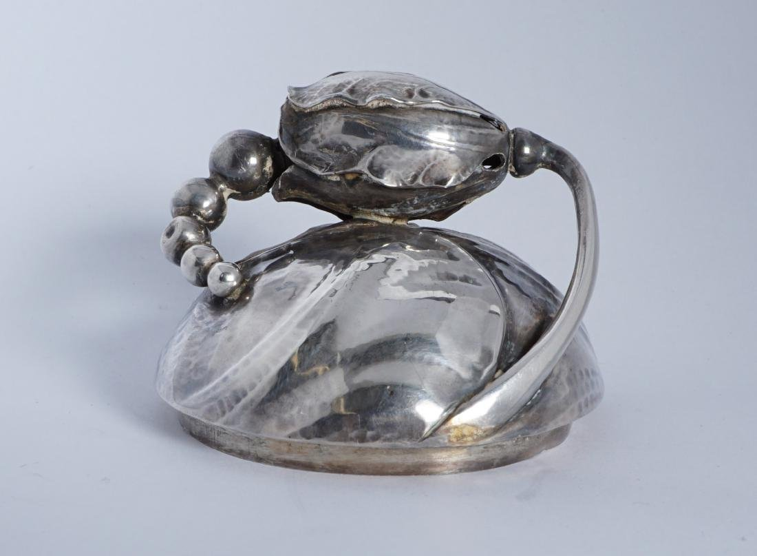 Georg Jensen Sterling Silver Blossom Milk Jug - 10