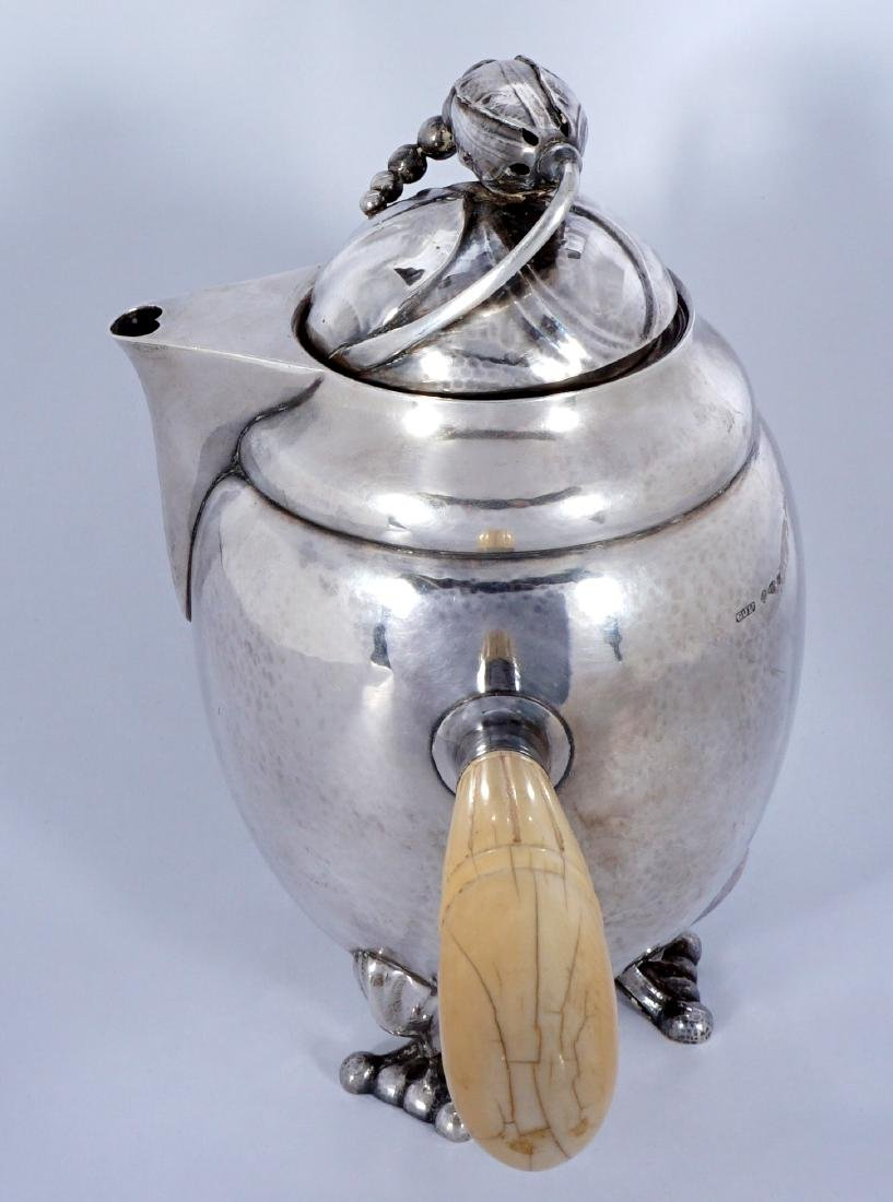 Georg Jensen Sterling Silver Blossom Milk Jug - 2