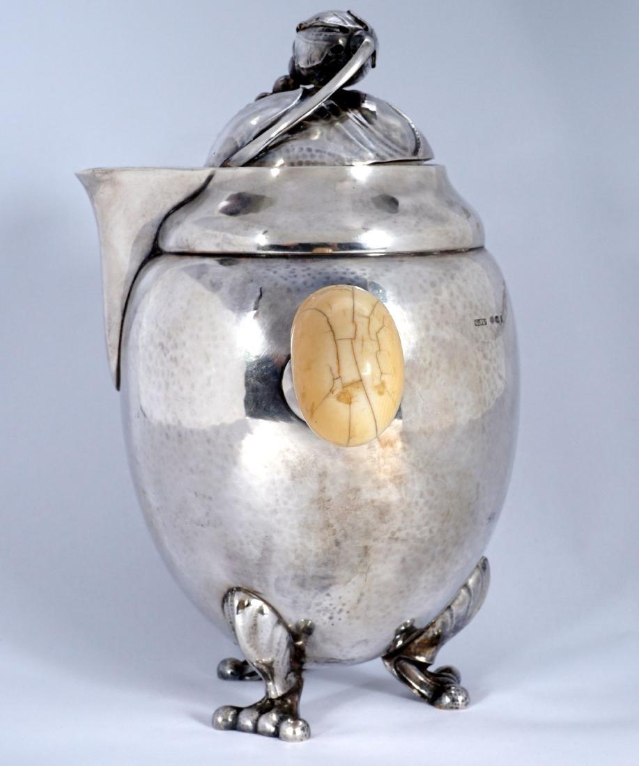 Georg Jensen Sterling Silver Blossom Milk Jug - 3