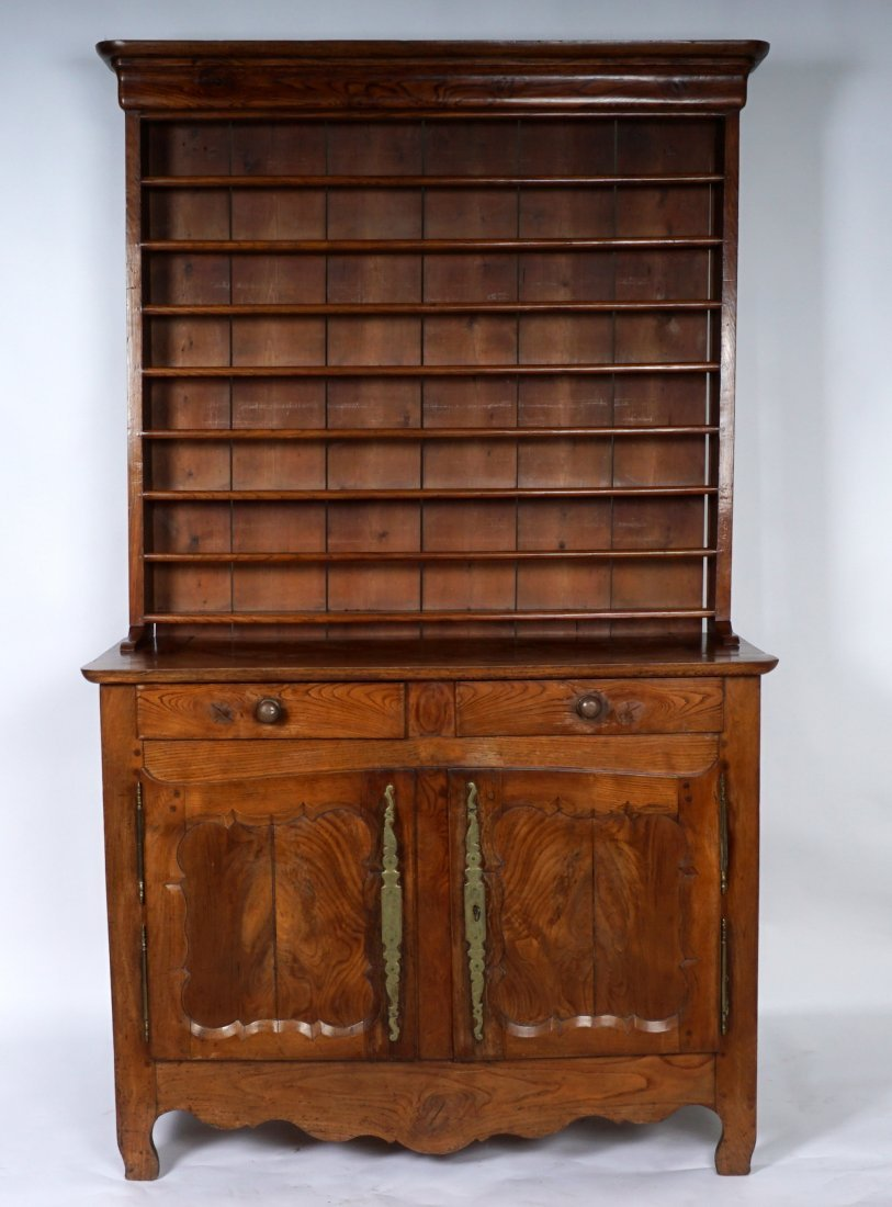 Louis XV French Provencial Walnut Server