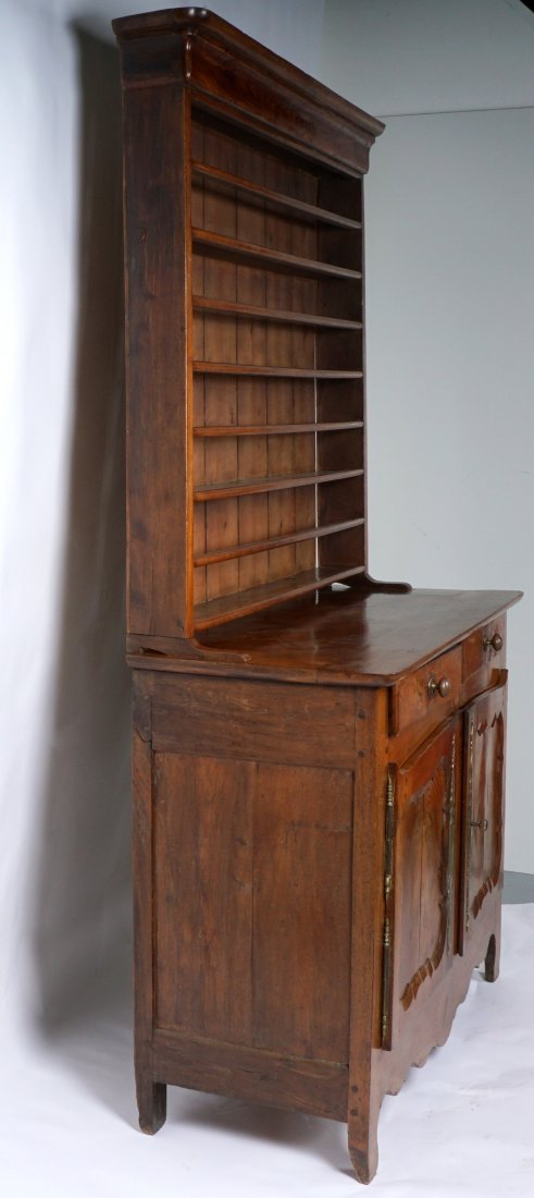 Louis XV French Provencial Walnut Server - 3
