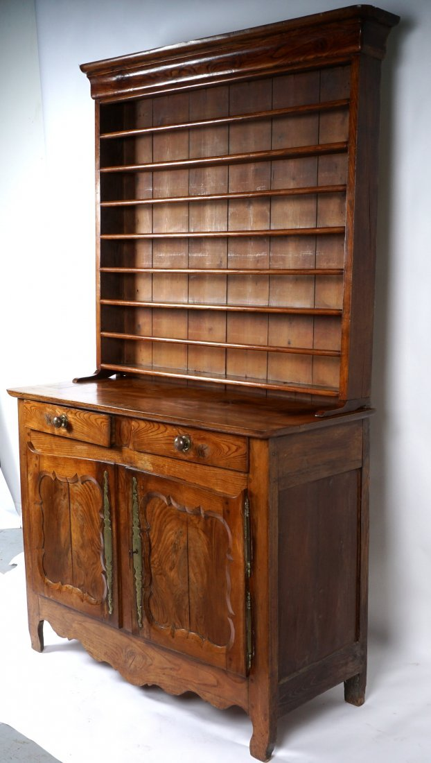 Louis XV French Provencial Walnut Server - 4