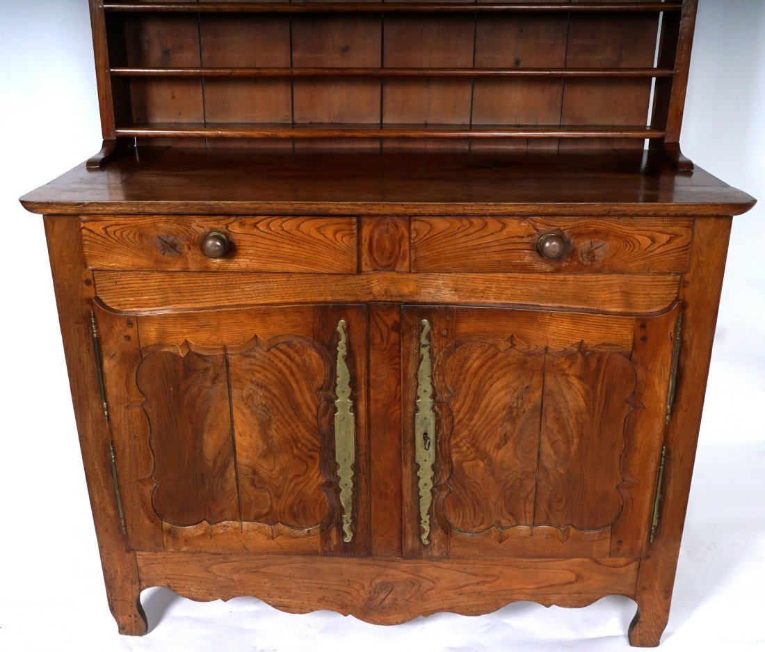 Louis XV French Provencial Walnut Server - 6