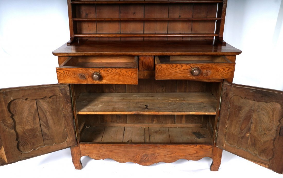 Louis XV French Provencial Walnut Server - 7